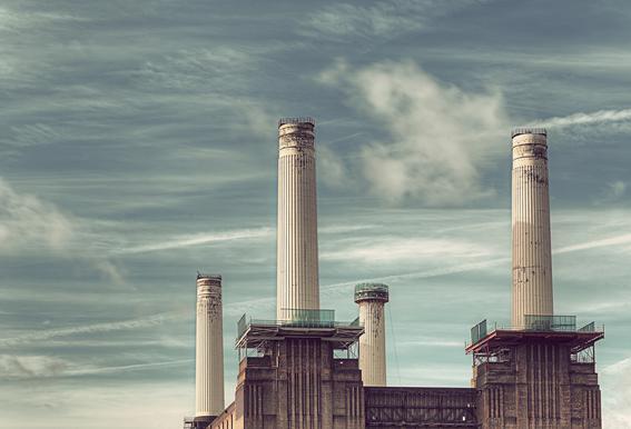 Battersea No 4 -Acrylglasbild