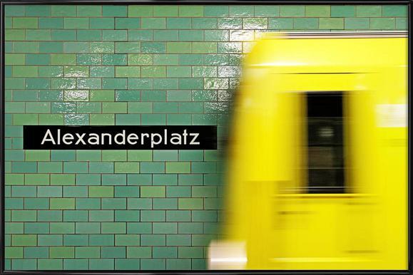 Reaching Alex - Poster im Kunststoffrahmen