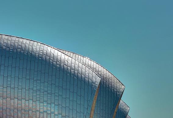 Thames Barrier -Acrylglasbild