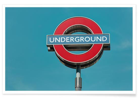 Underground - Premium Poster