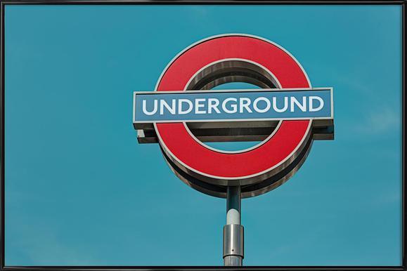Underground - Poster in Standard Frame
