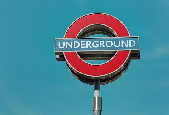 Underground -Acrylglasbild