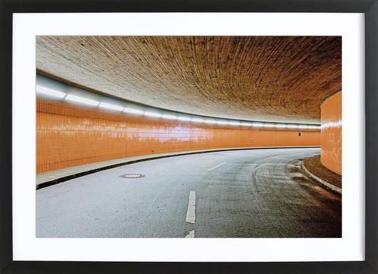 ICC No. 10 affiche sous cadre en bois