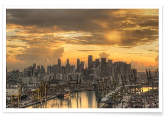 Singapore No. 2 Poster