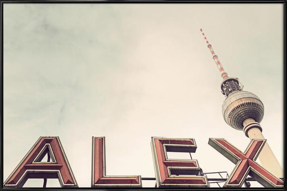 Alex Framed Poster