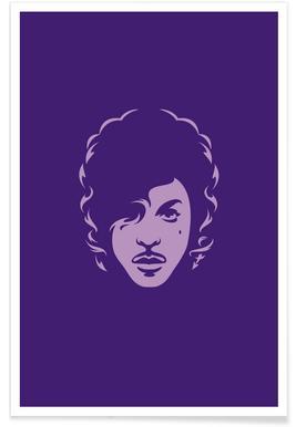 Prince – minimalistisch -Poster
