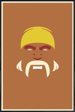 Hogan Framed Poster