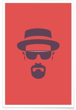 Heisenberg Minimalist Poster