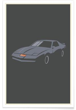 Knight Rider Minimalist Poster