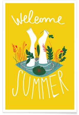 Welcome Summer -Poster