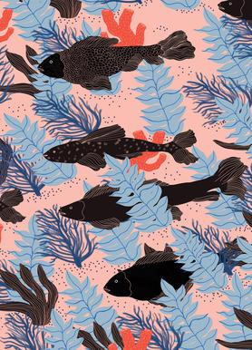 Fishes toile