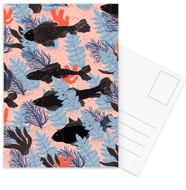 Fishes Postcard Set