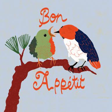 Bon Appétit Aluminium Print