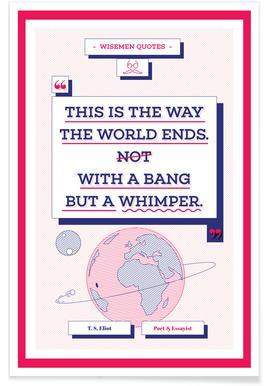 T. S. Eliot Poster