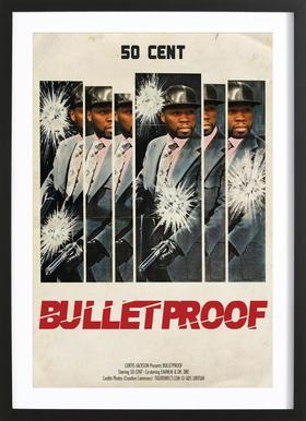 Bullet Proof Framed Print