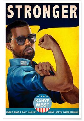 Stronger #2 Plakat