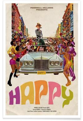 Happy #2 Plakat
