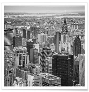 New York Skyline affiche