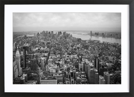 Towards Liberty Framed Print