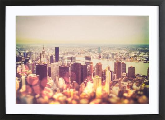 Manhattan's Skyline Framed Print