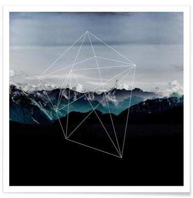 Mountains II - Premium Poster