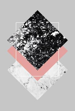 Geometric Textures 1 alu dibond