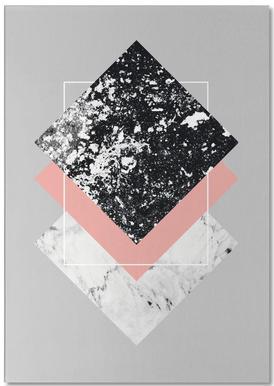 Geometric Textures 1 -Notizblock