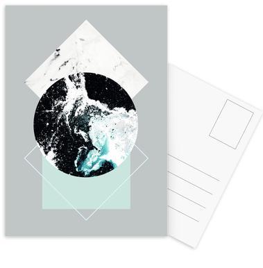 Geometric Textures 2 ansichtkaartenset