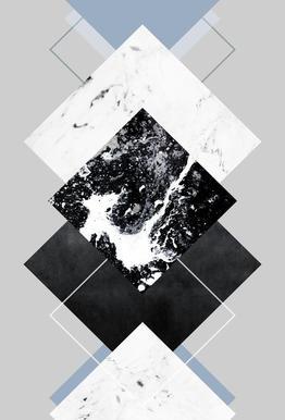 Geometric Textures 5 alu dibond
