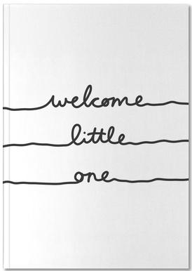 Welcome Little One carnet de notes