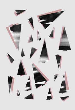 80's Trees acrylglas print