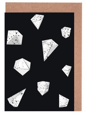 Origami 6 cartes de vœux