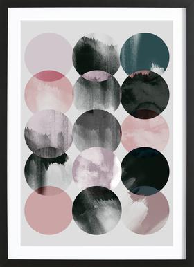 Minimalism 16 Poster i träram