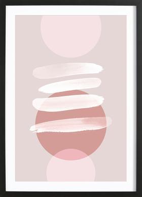Minimalism 18 Poster i träram