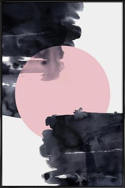 Minimalism 20 ingelijste poster