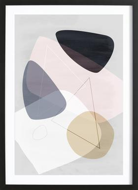 Graphic 150 B Framed Print