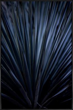 Blue Straws 2 Framed Poster