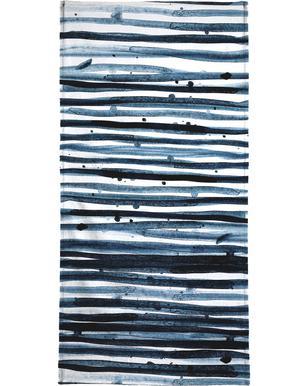 Watercolor 9 handdoek