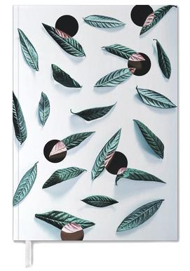 Leaves And Dots Personal Planner