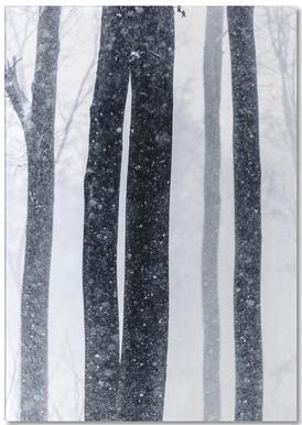 Snow Trees 2 Notepad