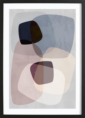 Graphic 194B Framed Print