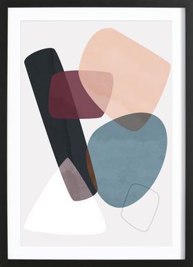 Graphic 195 Framed Print