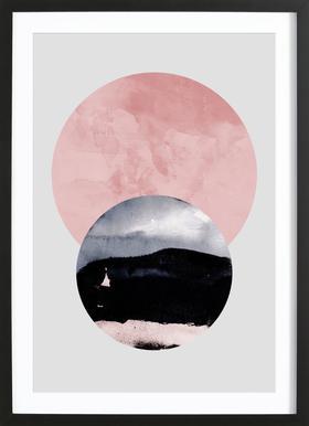 Minimalism 31 ingelijste print