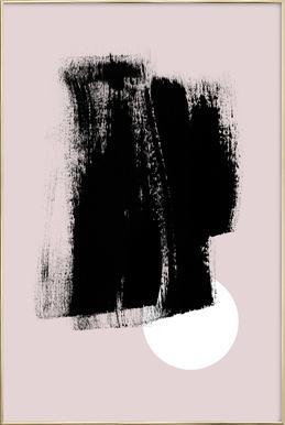 Minimalism 49 -Poster im Alurahmen
