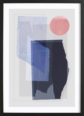 Pieces 10A Framed Print