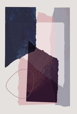 Pieces 12 acrylglas print