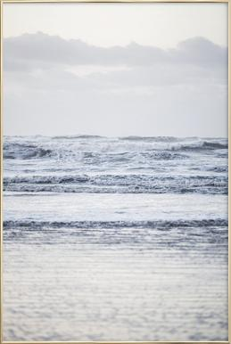 The Sea poster in aluminium lijst