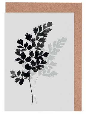 Watercolor Leaves 14 wenskaartenset