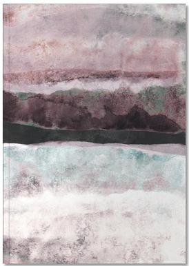 Watercolors 24 Notebook