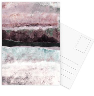 Watercolors 24 Postcard Set